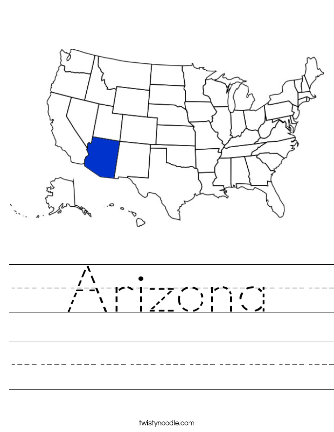Arizona Worksheet