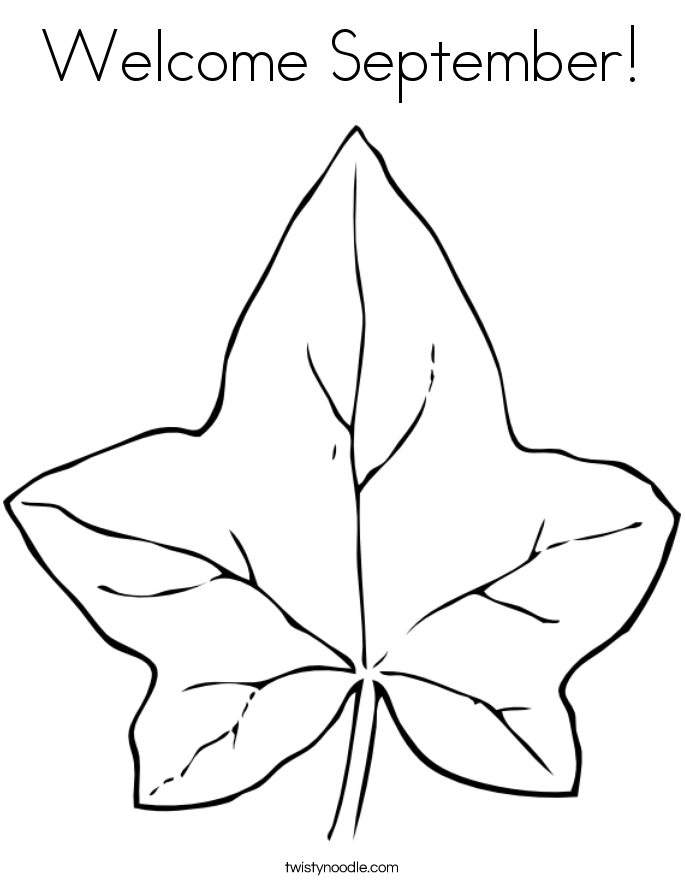 Parts Of A Leaf Coloring Page | Free Printable Math Worksheets - Mibb ...
