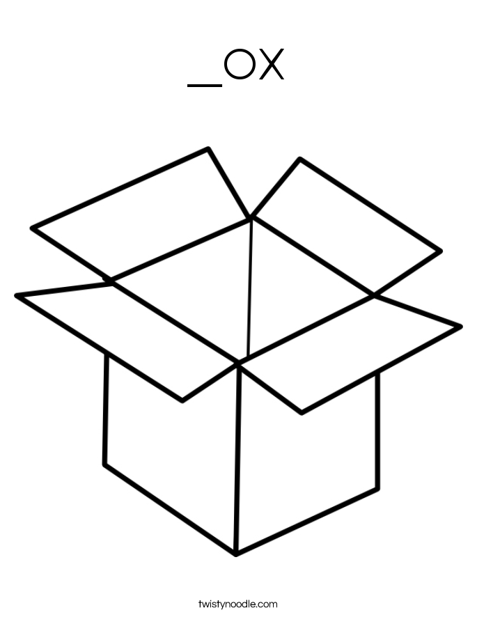 _ox Coloring Page