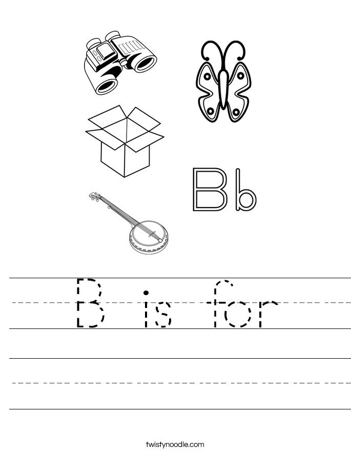 B is for Worksheet