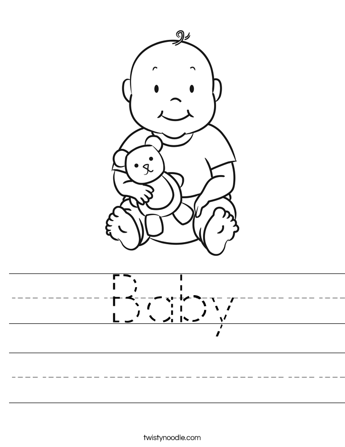 Baby Worksheet