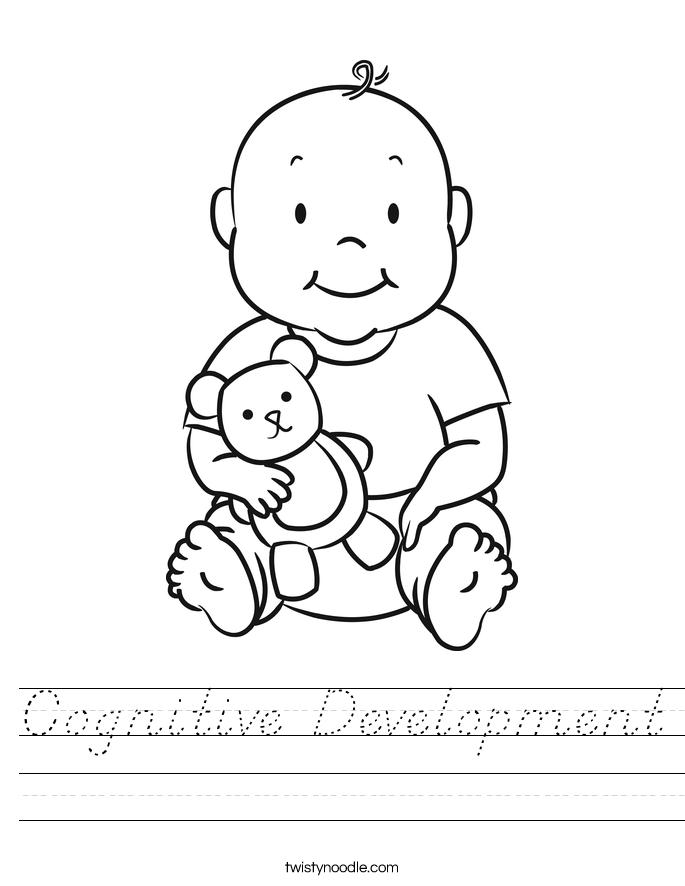 Cognitive Development Worksheet
