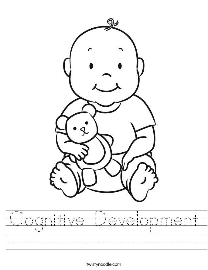Cognitive Development Worksheet
