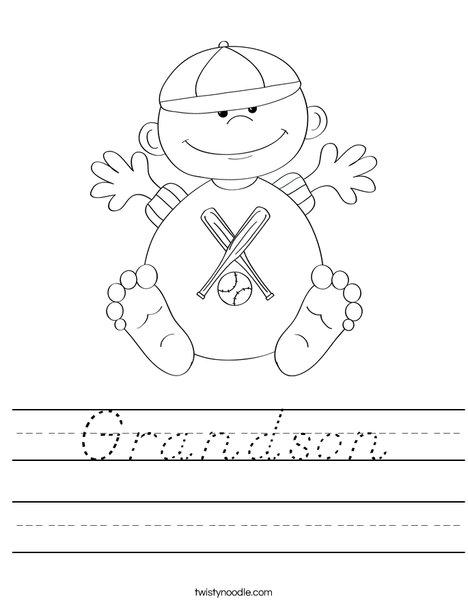 Baby 4 Worksheet