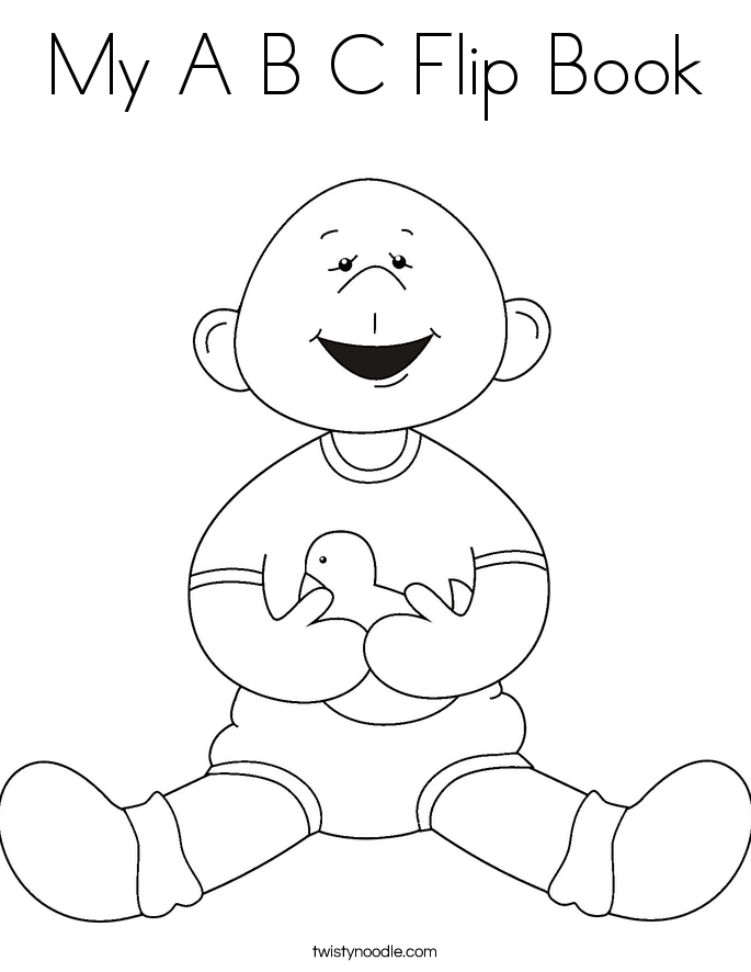 a b c coloring pages - photo #6