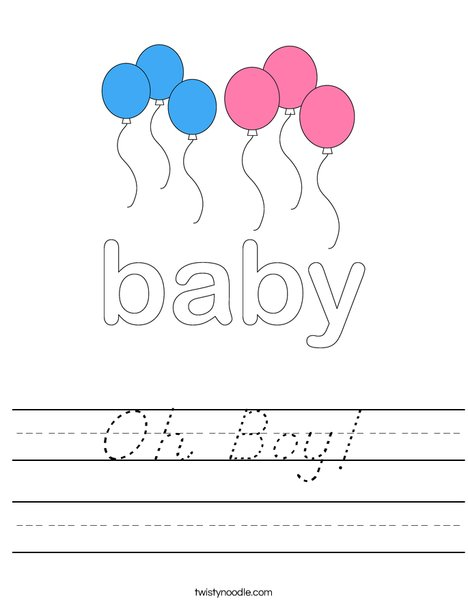 Baby by Trina Clark Worksheet