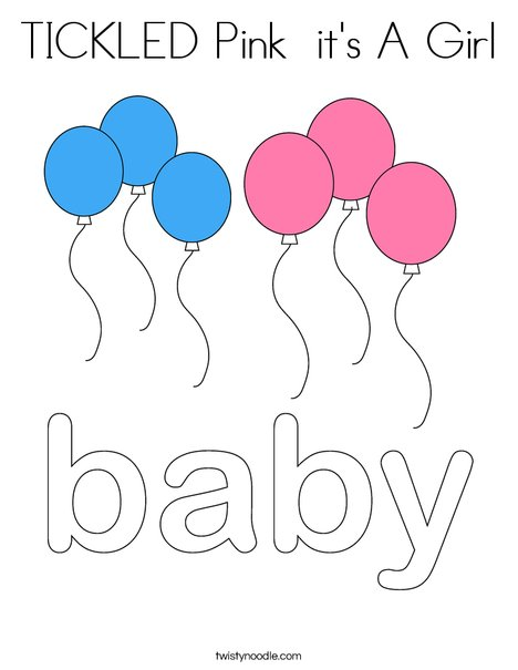 Baby by Trina Clark Coloring Page