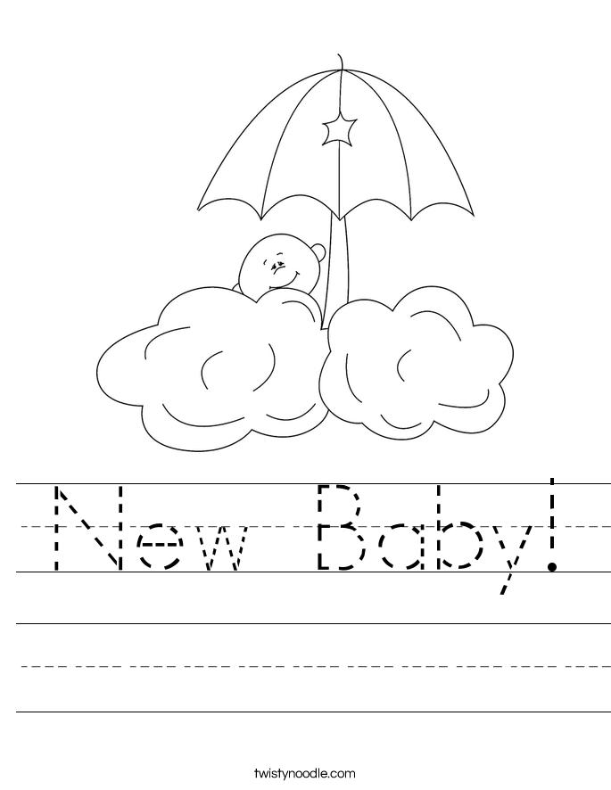 New Baby! Worksheet