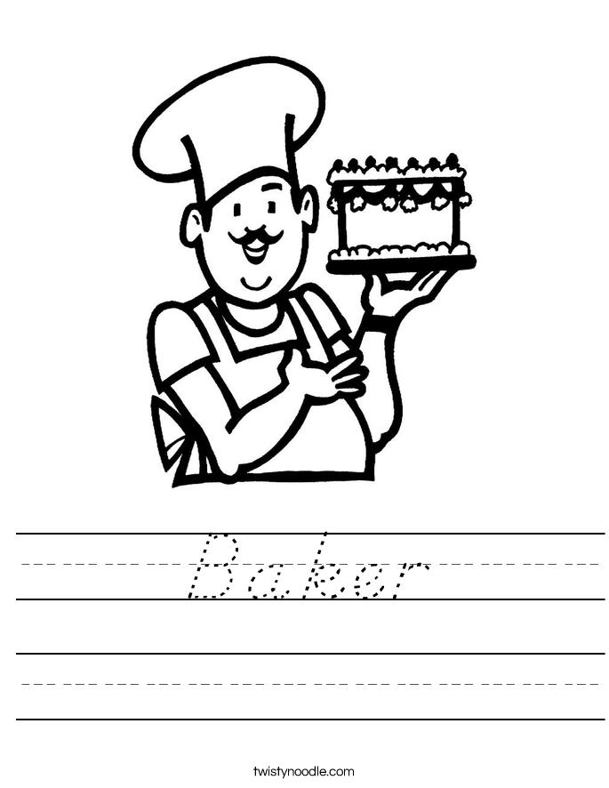 Baker    Worksheet
