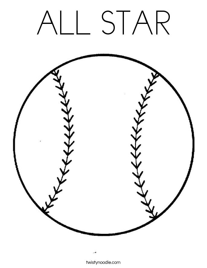 all star coloring page