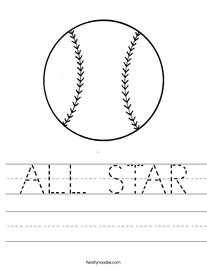 ALL STAR Worksheet