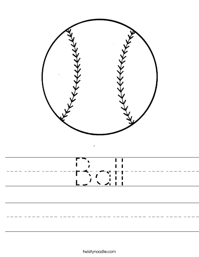 Printable Pre K Tracing Worksheets
