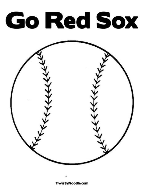 Red Sox Coloring Pages South Shore Mamas