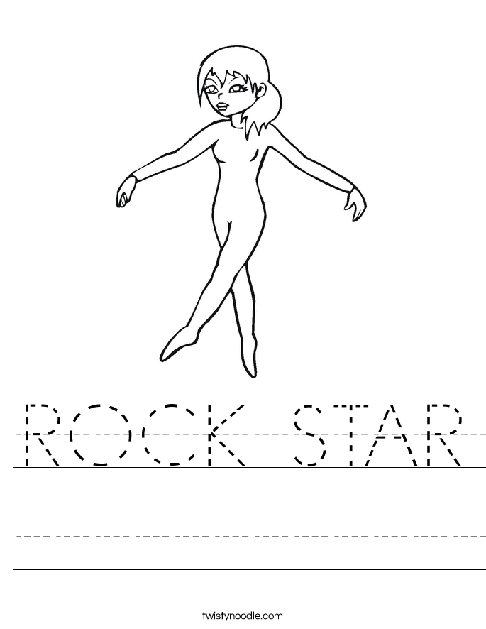 ROCK STAR Worksheet
