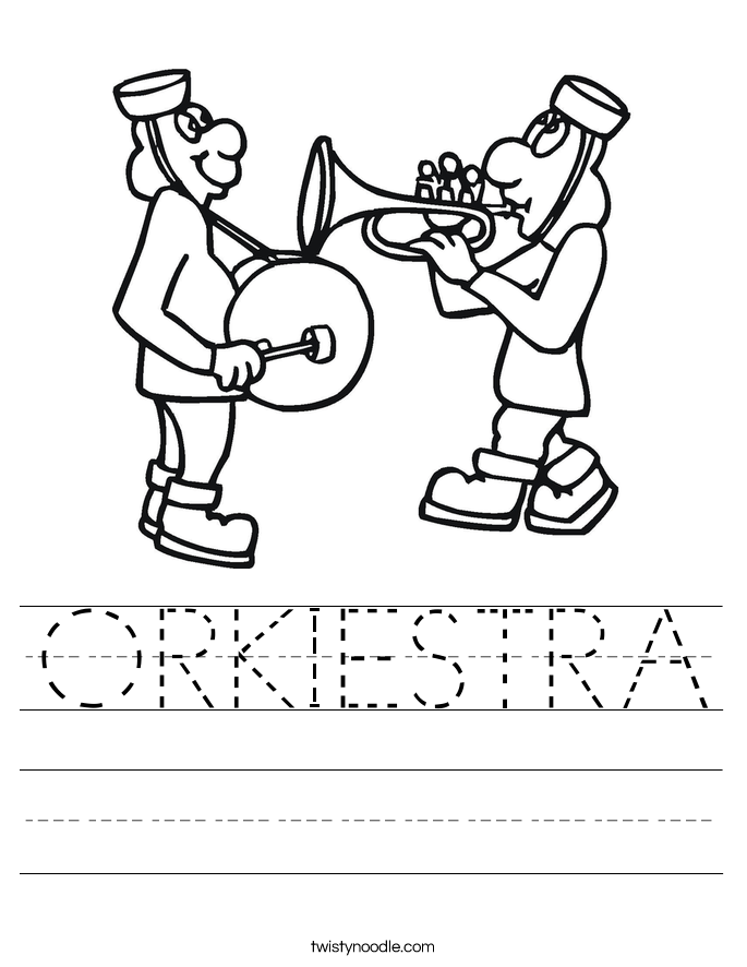 ORKIESTRA Worksheet