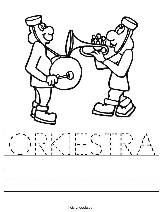 ORKIESTRA Worksheet
