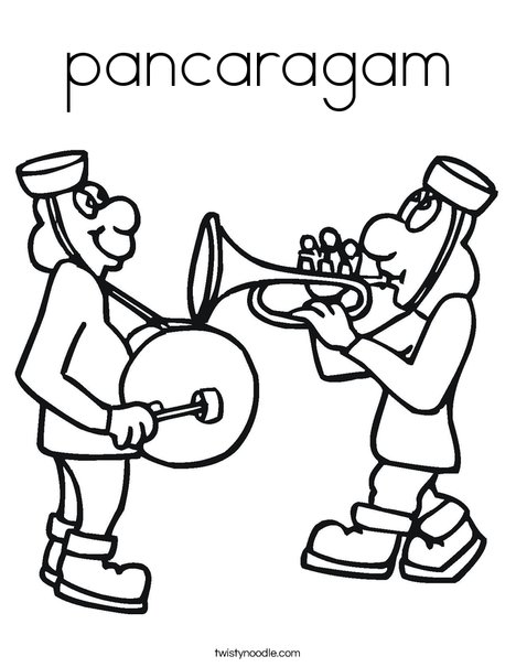 Musicians Coloring Page