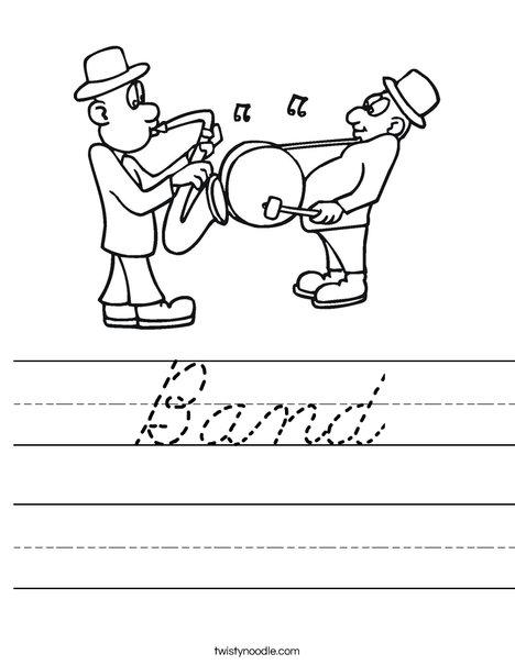 Band Worksheet