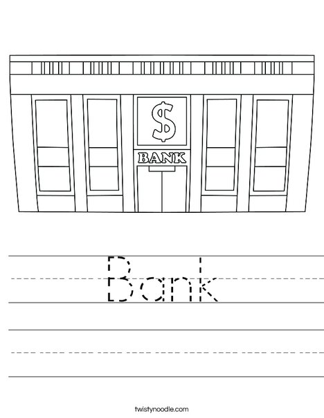 Bank Worksheet