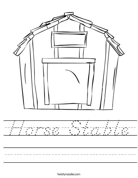 Stable Worksheet