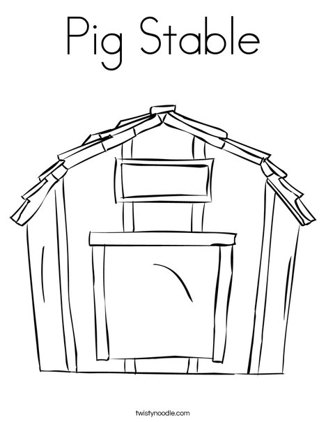 Stable Coloring Page