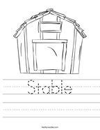 Stable Handwriting Sheet