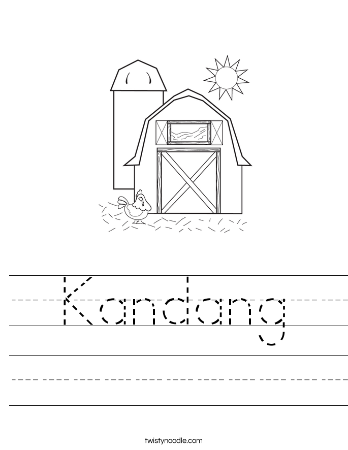 Kandang Worksheet