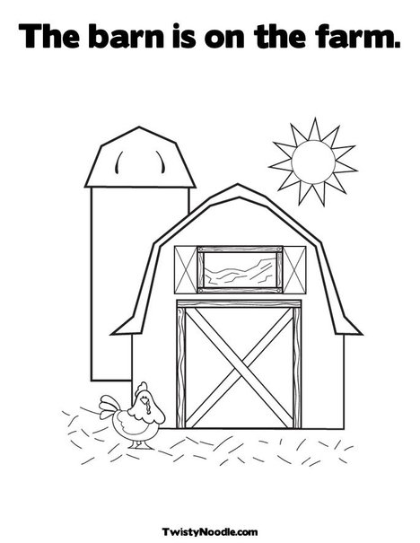 farm animal alphabet coloring pages - photo#16