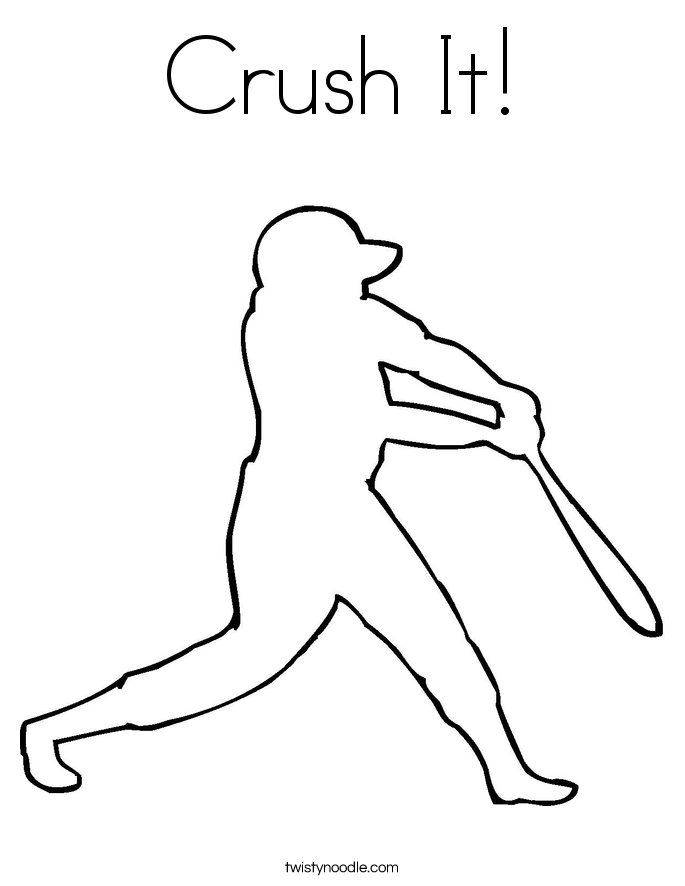 Crush It! Coloring Page