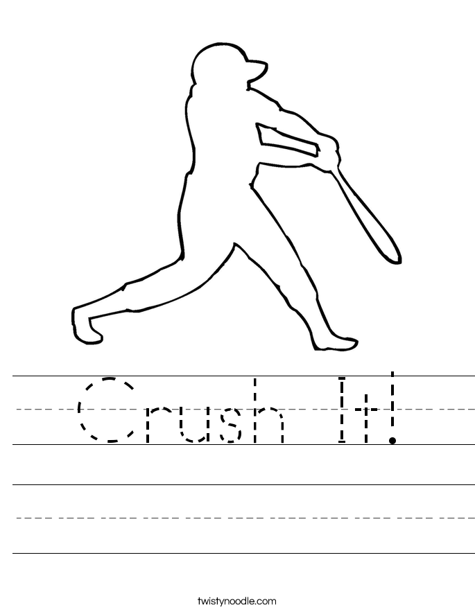 Crush It! Worksheet