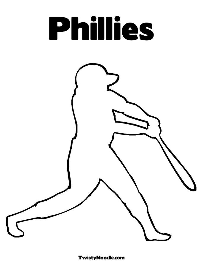 philadelphia phillies coloring pages free - photo#7