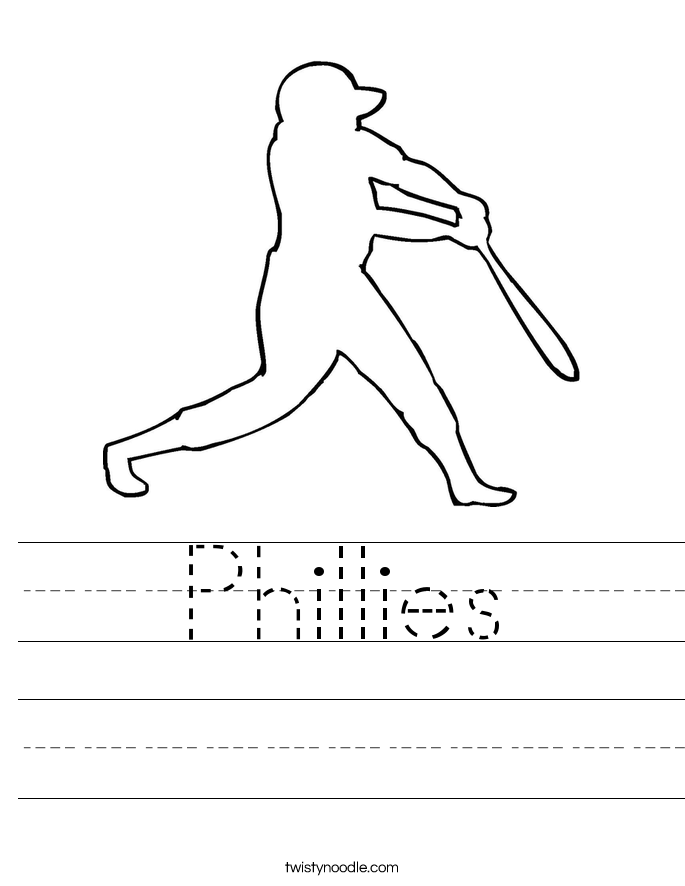 Phillies Worksheet