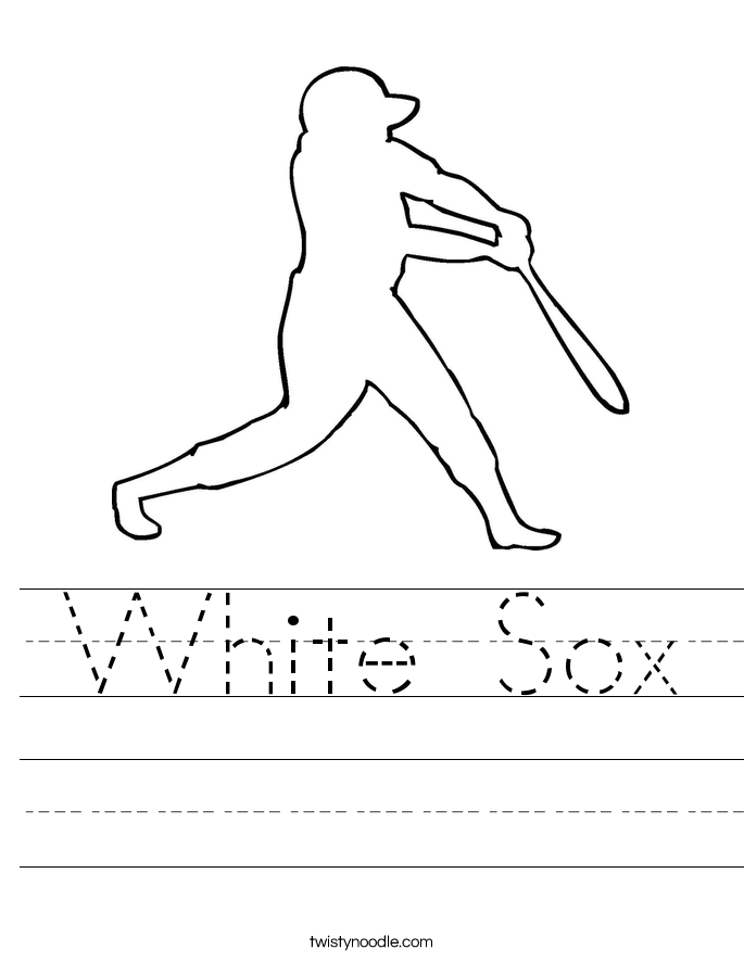 White Sox Worksheet