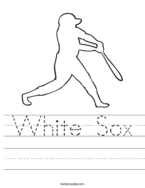 Baseball Player Worksheet