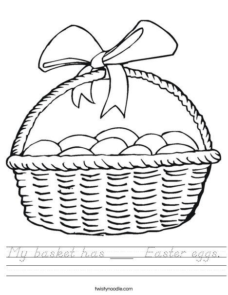 How many eggs? Worksheet