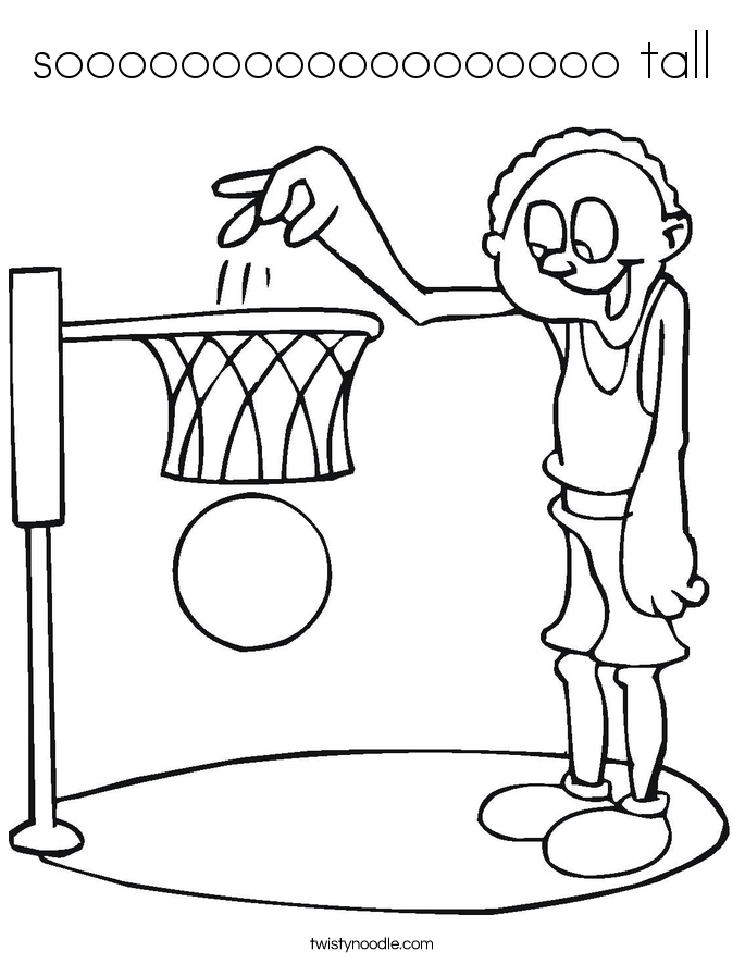 Short tall coloring pages