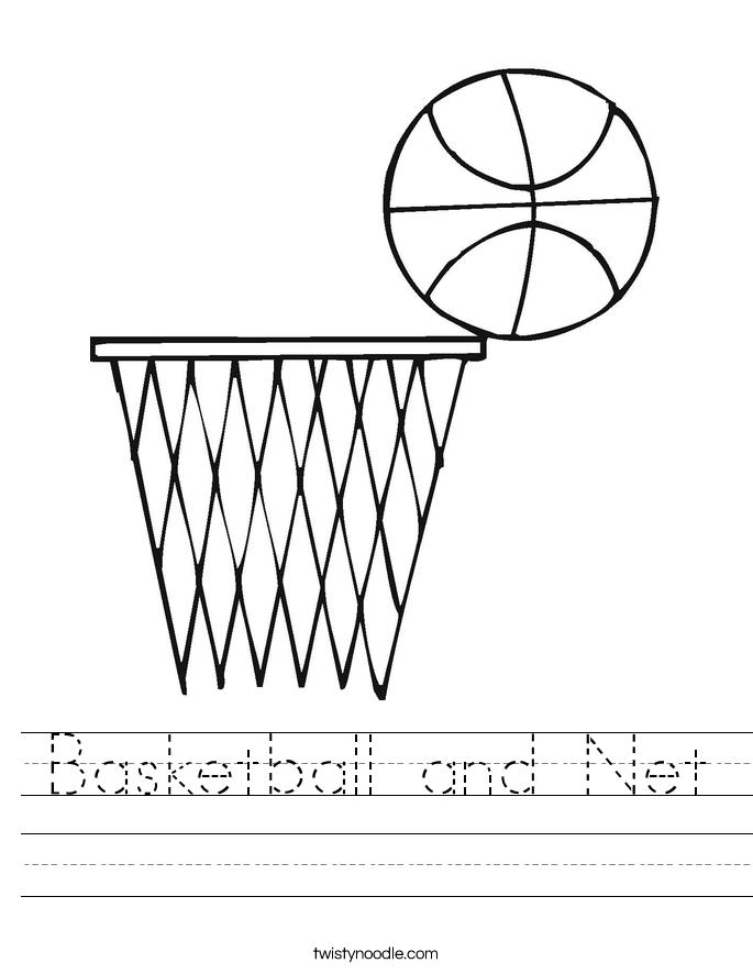Basketball and Net Worksheet