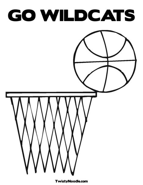 free college basketball coloring pages - photo#35