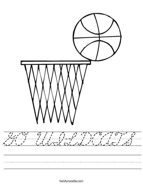 Basketball and Net Worksheet