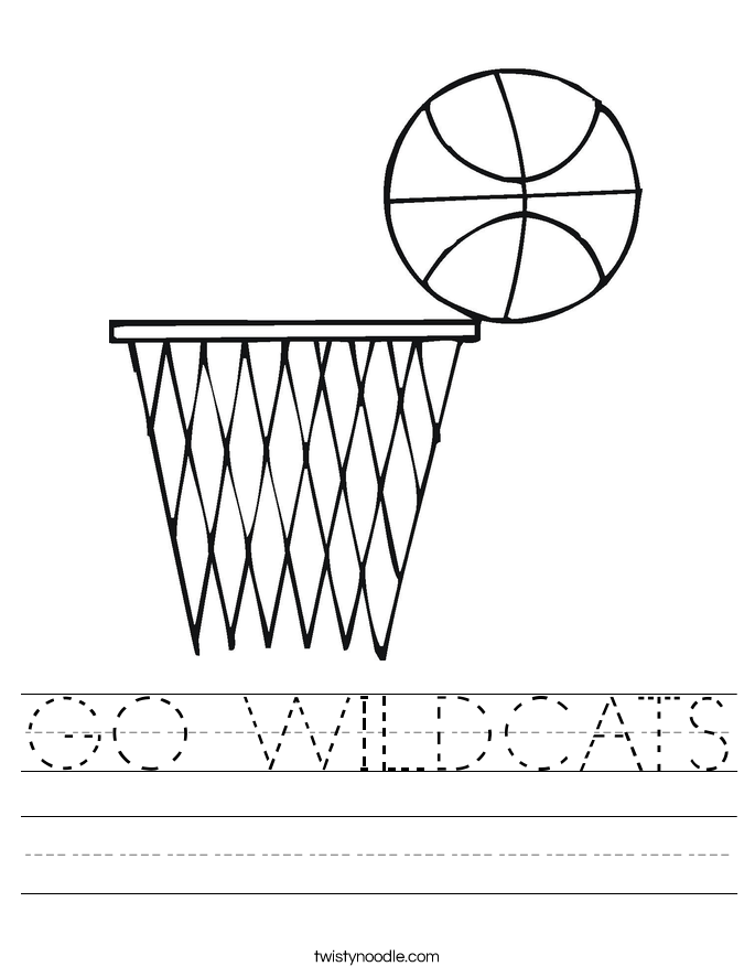 GO WILDCATS Worksheet