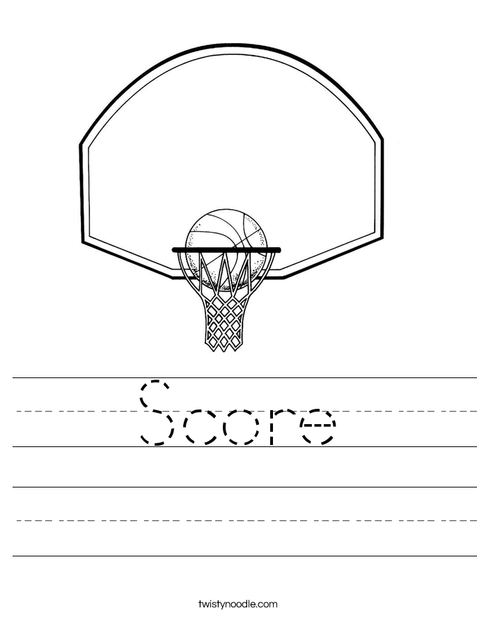 Score Worksheet
