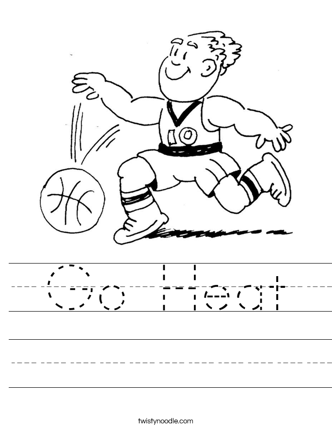 Go Heat Worksheet