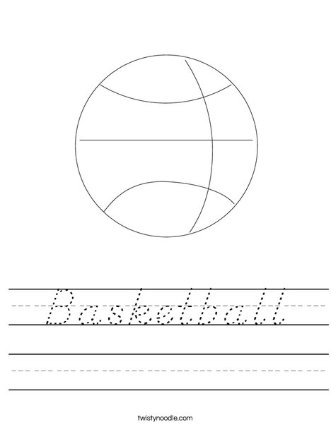 Basketball Worksheet