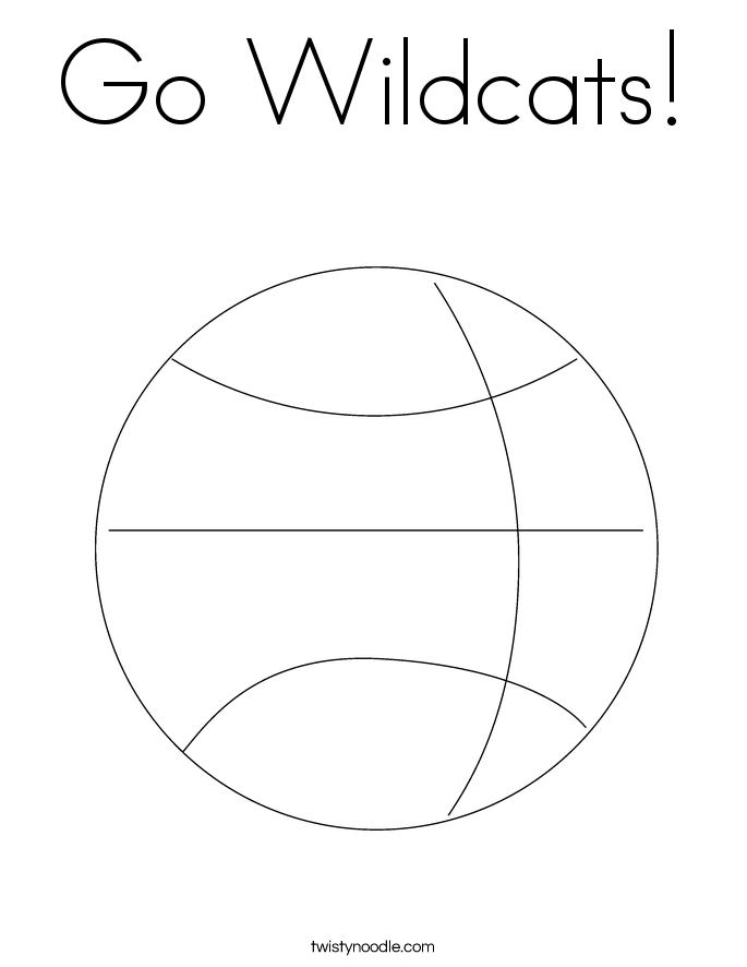 Villanova Wildcats Coloring Pages Coloring Coloring Pages