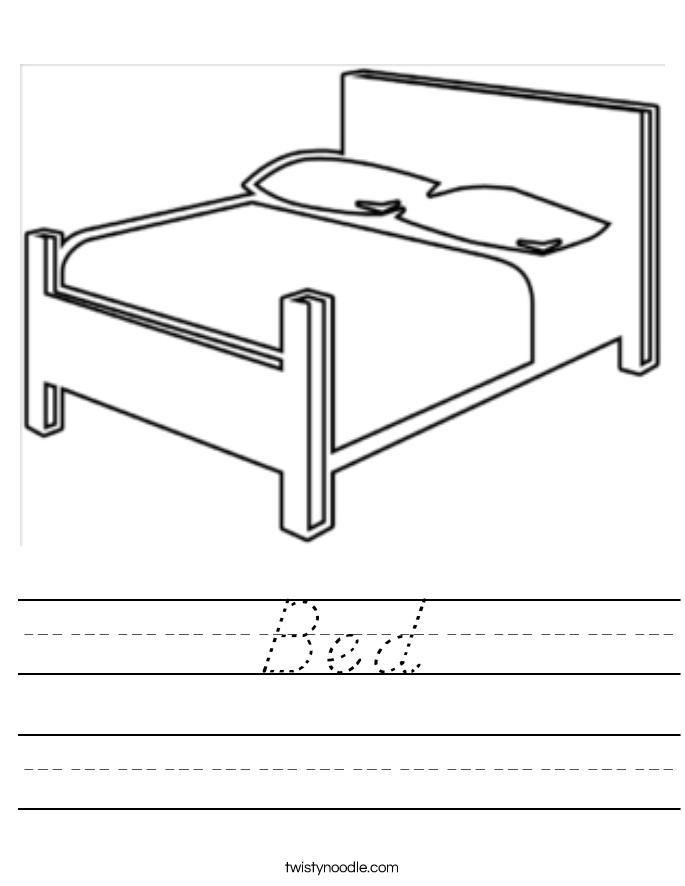 Bed Worksheet