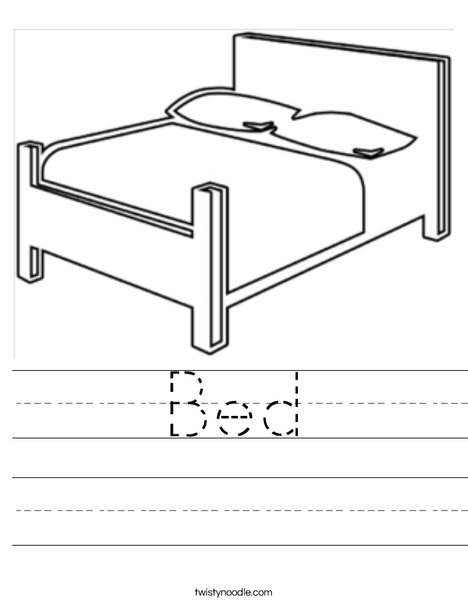 Bed Worksheet