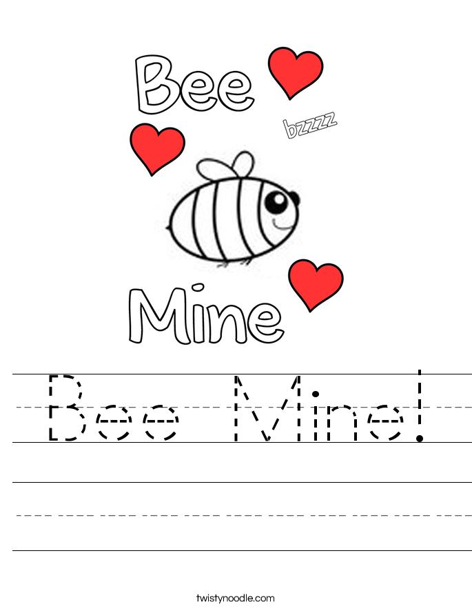 Bee Mine! Worksheet