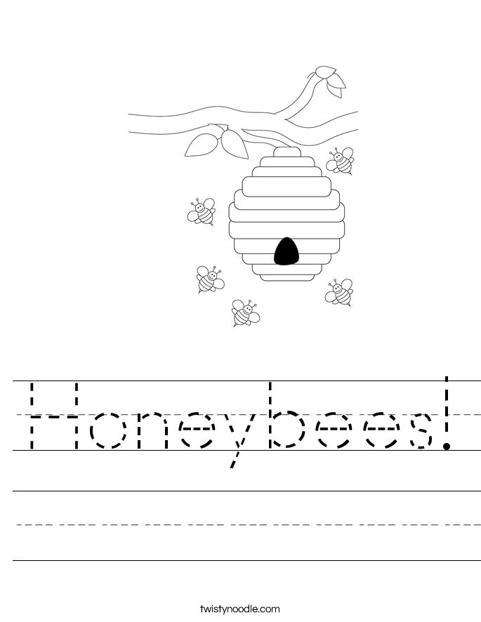 Honeybees! Worksheet
