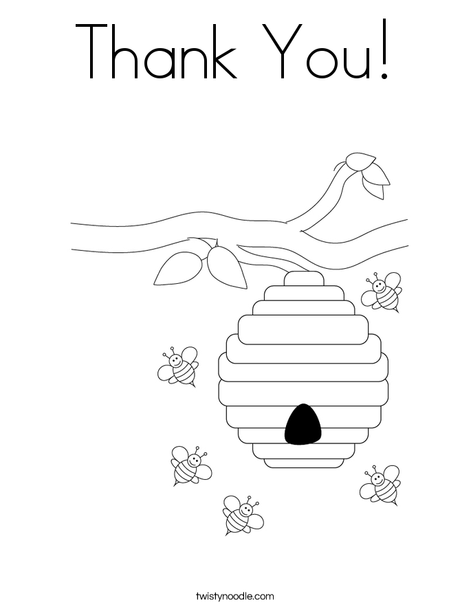 Coloring Pages Thank You Cards Printable Coloring Pages Thank You Colouring Pages