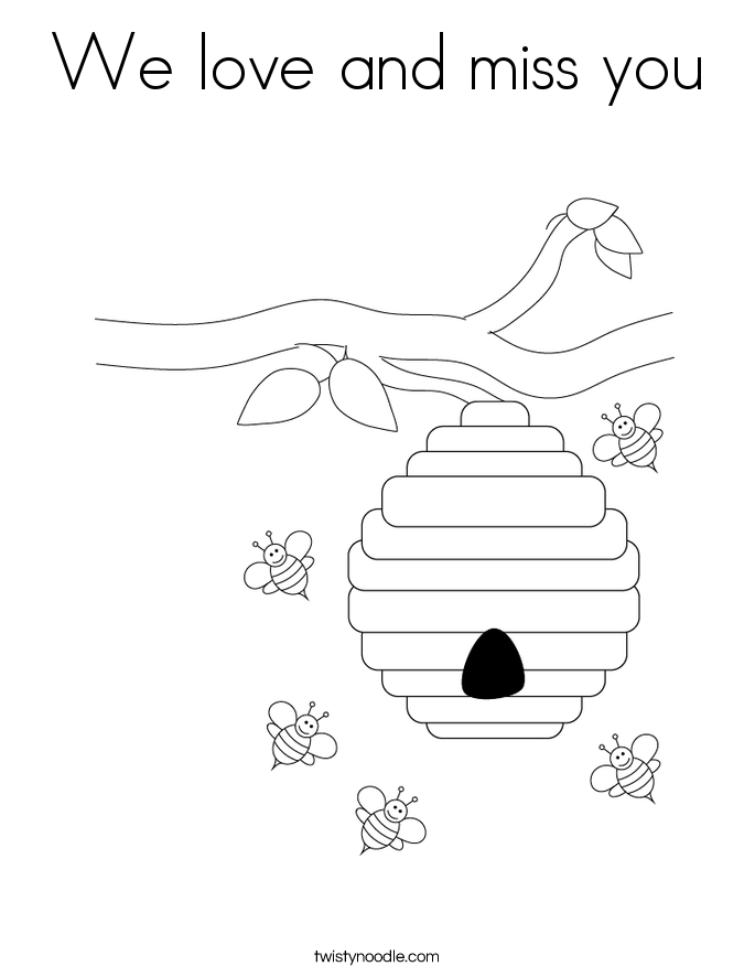 we love you coloring pages - photo#8